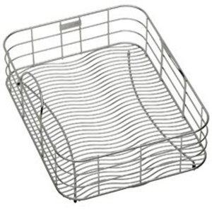 "ELKWRB1316SS Rinse Basket With Dish Rack 12-1/2"" x 15"""