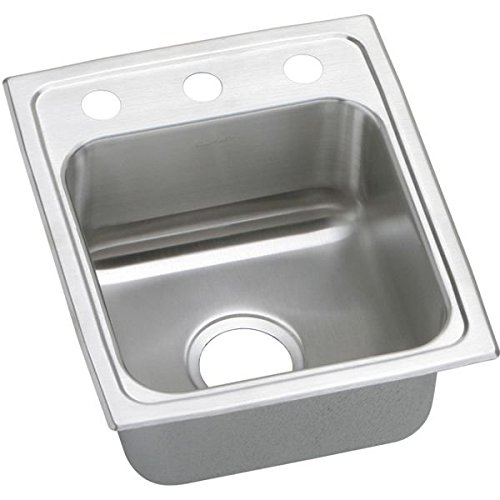 15 X 17 One Hole Single Band Stainless Steel SINK Pacemaker