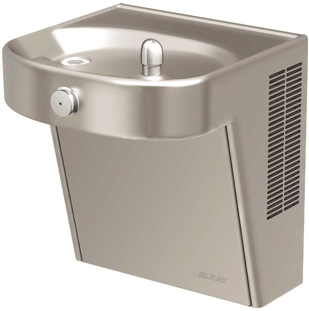 ELKAY HEAVY-DUTY VANDAL-RESISTANT WALL MOUNT SINGLE ADA COOLER