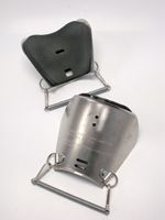Ellwood Safety Appliance Aluminum Metatarsal Guard With Spring Fastener