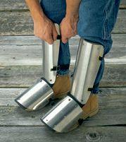 "Ellwood Safety Appliance 20"" Aluminum Shin-Instep Guard"