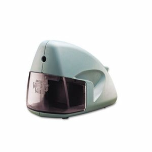 Mighty Mite Home Office Electric Pencil Sharpener, Mineral Green