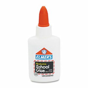 Washable School Glue, 1.25 oz, Liquid