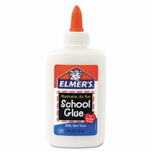 Washable School Glue, 4 oz, Liquid