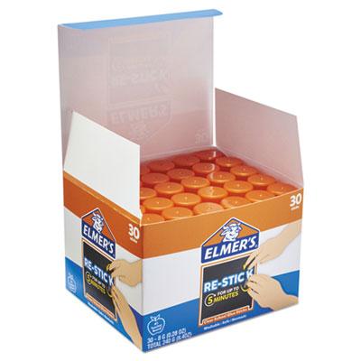 Clear School Glue Stick, Clear/Clear, 8 g, 30 per pack