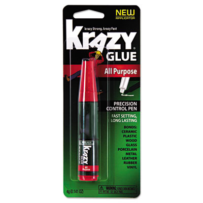 All Purpose Krazy Glue, 4 g, Clear