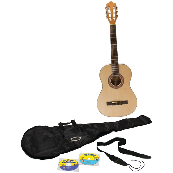 EMEDIA MUSIC EG11131 My Guitar Beginner Pack with 3/4-Size Guitar