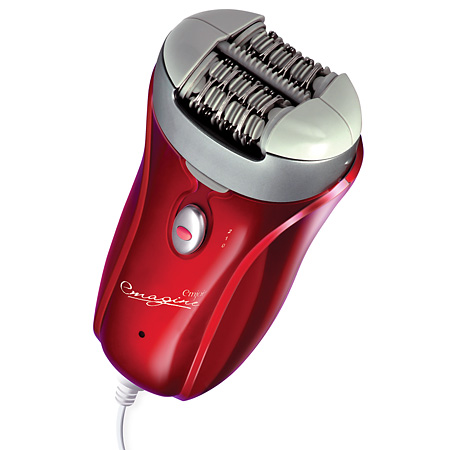 EMJOI  AP18 EMAGINE RED EPILATOR 72 TWEEZER HEAD CORDED PATE