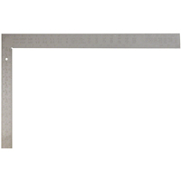 Empire 1110 Flat Tradesman Square, 24 X 2 in, 1/8 in, 16 X 1/2 in Tongue, Steel