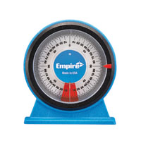Empire 36 Magnetic Protractor, 0 - 360 deg, Polycast