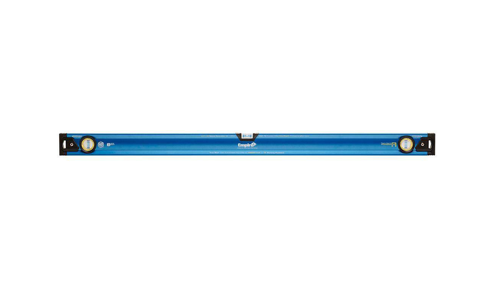 True Blue EM71 Magnetic Box Beam Level, 0.0005 in 48 in L, Aluminum