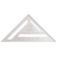 SQUARE RAFTER 12IN HD ALUMINUM