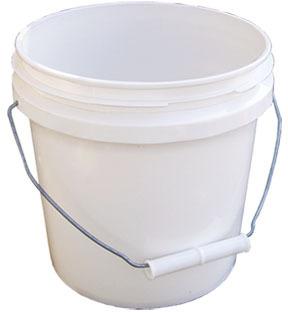 10128 1G WHITE PLASTIC PAIL