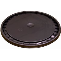 PAINT PAIL LID SNAPON BLACK 5G