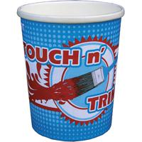 Encore Plastics Touch n' Trim Disposable Paint Container, 1 qt, Paper