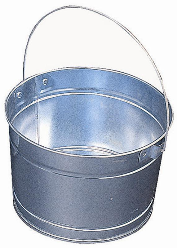 22500 2.5Q METAL PAIL W/HANDLE