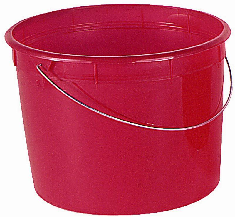 05160 5Q PLAS PAIL W/HANDLE