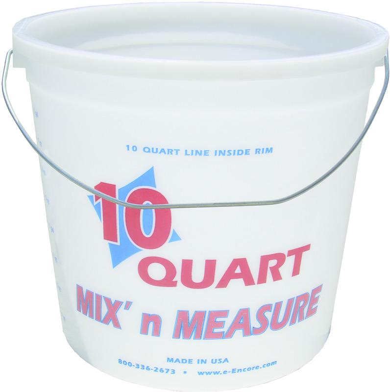 20325 10QT MIX FT. N MEASURE PAIL