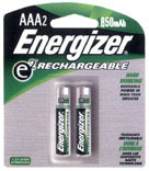 NH12BP-2 2PK AAA RECHR BATTERY