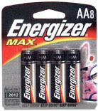 E91MP-8 AA 8PK ALK BATTERY