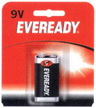 9V 1Pk Heavy Duty Battery