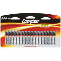BATTERY ALKALINE MAX 16PK/AAA