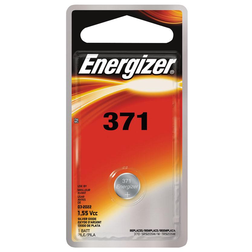 Zero-Mercury 371BPZ Battery, 1.55 V, 371, Silver Oxide