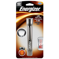 FLASHLIGHT 5LED ALUM 2AA GRAY