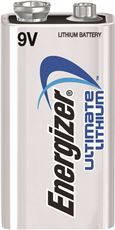 ENERGIZER� ULTIMATE LITHIUM BATTERY, 9 VOLTS