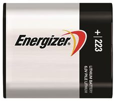 ENERGIZER� 223 LITHIUM PHOTO BATTERY, 6 VOLTS