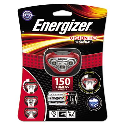 Energizer Vision Hd Headlamp, Red