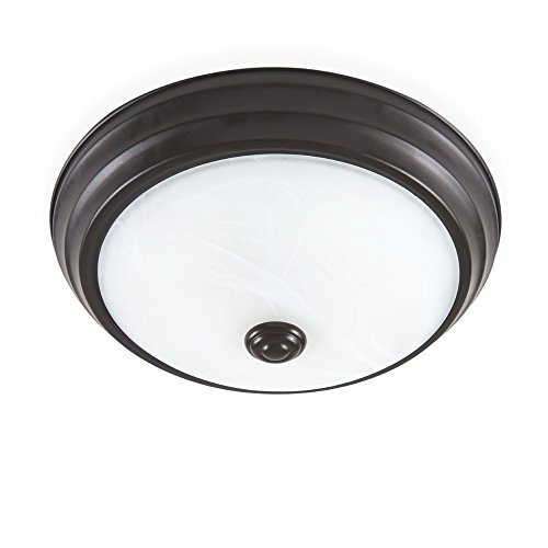 ENVIROLITE� LED FLUSH MOUNT CEILING FIXTURE, SATIN BRONZE, 11 IN., INTEGRATED LED INCLUDED