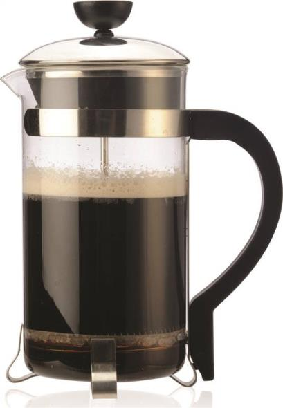 Primula PCP-6408 Classic Coffee Press, Borosilicate Glass, Stainless Steel