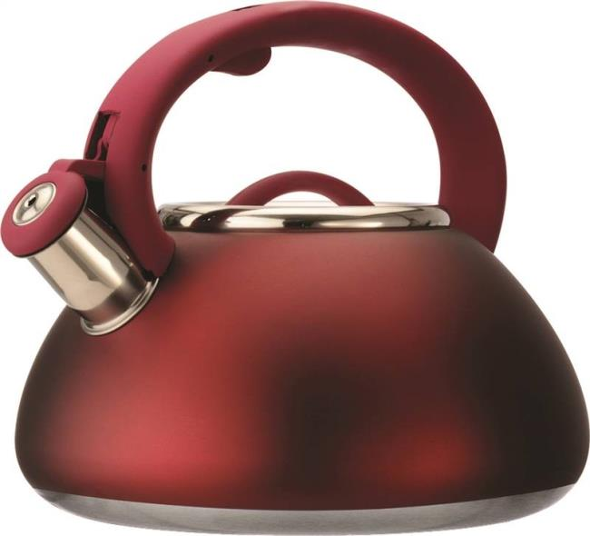 Primula PAVRE-6225 Whistling Tea Kettle, 2.5 qt Capacity, 18 in L x 18 in W x 9 in H, Stainless Steel