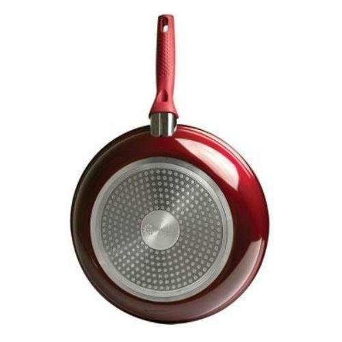 PAN FRY CERAMIC RED 11IN