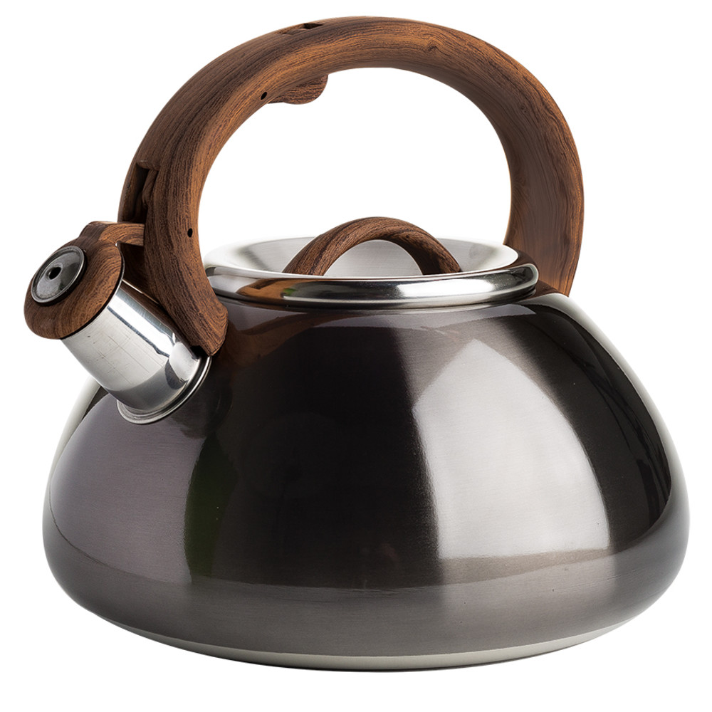KETTLE TEA MTLAC GUN MTL 2.5QT