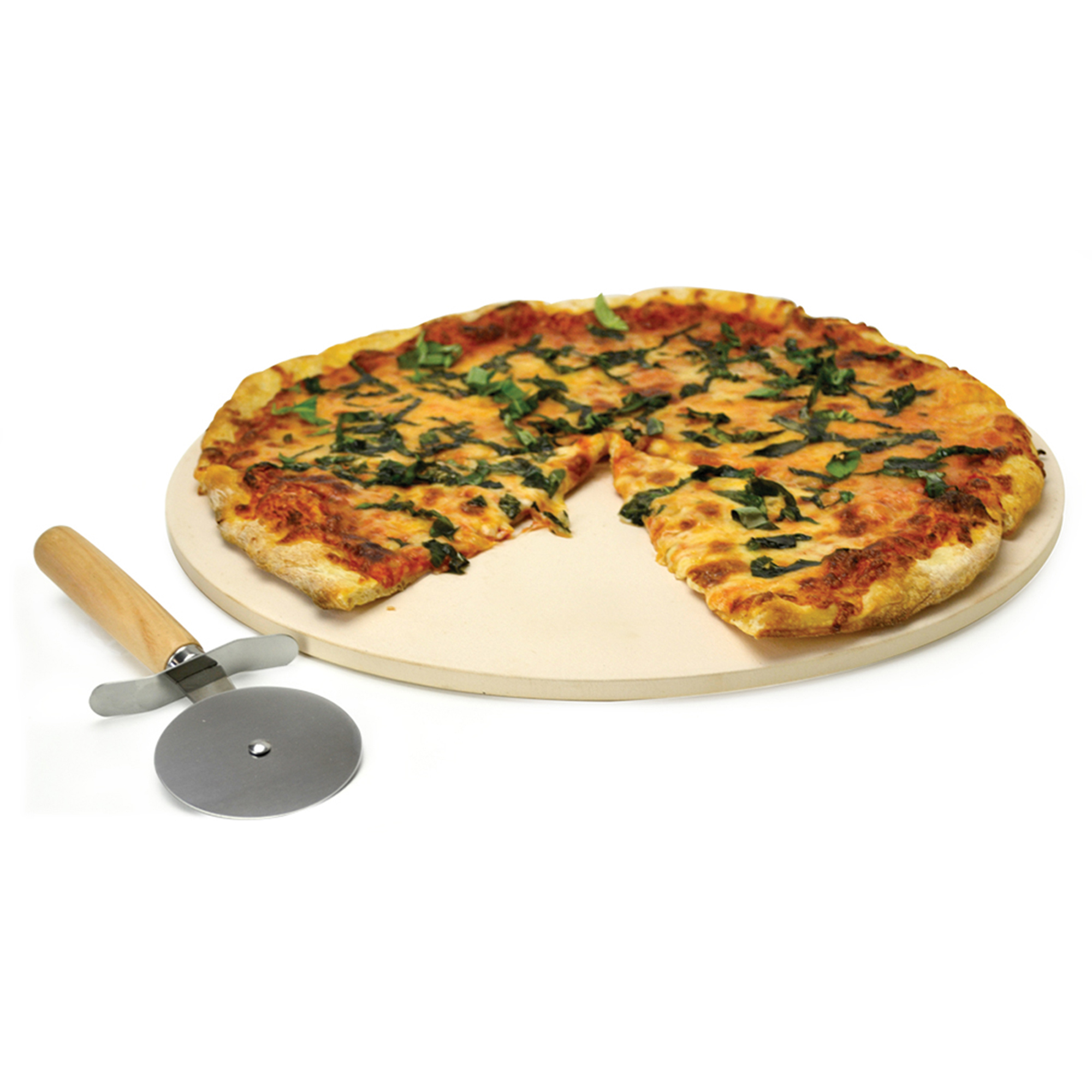 ECOLUTION EKCS0815 KITCHEN EXTRAS PIZZA STONE 15 INCH WITH