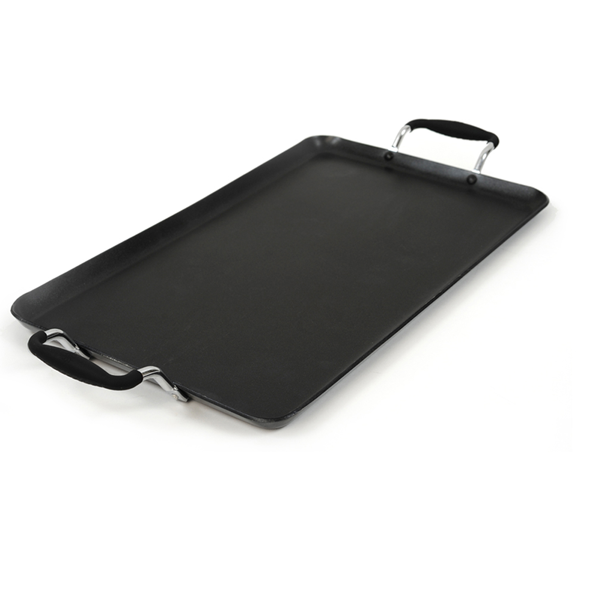 ECOLUTION EABK3218 BLACK ARTISTRY DOUBLE BURNER GRIDDLE