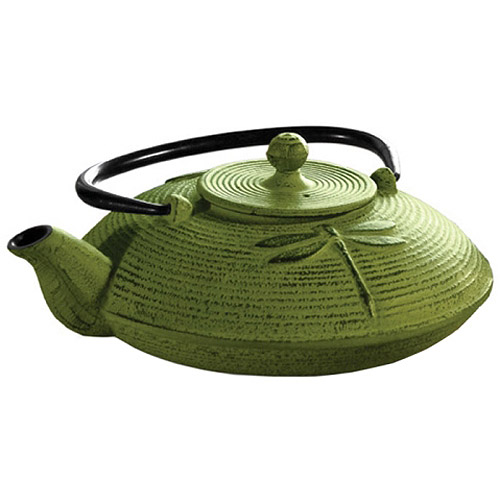 Primula Pci5228 Green Teapot 28 Oz Cast Iron