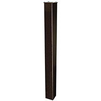 Epoch 7123 In-Ground Mounting Post, 43 in H X 4 in W X 4 in D, For Use With Maibox