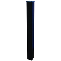 Epoch 7121 In-Ground Mounting Post, 43 in H X 4 in W X 4 in D, For Use With Maibox