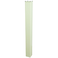 Epoch 7122 In-Ground Mounting Post, 43 in H X 4 in W X 4 in D, For Use With Maibox