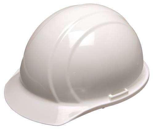 AMERICANA HARD HAT 4PT SUSPENSION STANDARD WHITE
