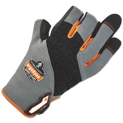 ProFlex 720 Heavy-Duty Framing Gloves, Gray, Medium, 1 Pair