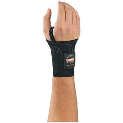 "ProFlex 4000 Wrist Support, Left-Hand, Large (7-8""), Black"