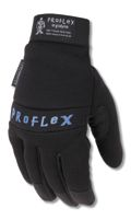 Ergodyne+ Large Black ProFlex+ 817 Thinsulate+ Lined Cold Weather Gloves With Woven Elastic Cuffs, Padded Back, Neoprene Knuckle