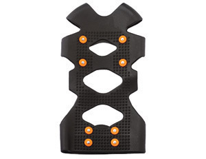 Ergodyne Large TREX� 6300 Black Stretchable Rubber One Piece Ice Traction Device With Carbon Steel Studs For Boots And Shoes Siz