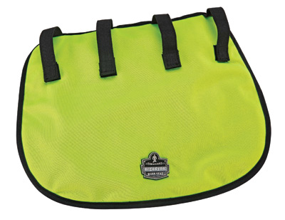 Ergodyne Hi-Viz Lime Chill-Its� 6670CT Advanced PVA Evaporative Neck Shade With Hook And Loop Straps