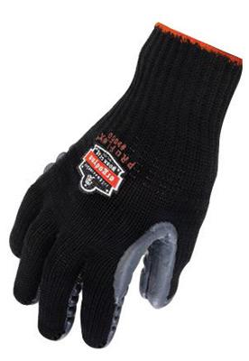 Ergodyne� Medium Black ProFlex� 9000 Full Finger Chloroprene Rubber Anti-Vibration Gloves With Elastic Cuff, Unique Chloroprene