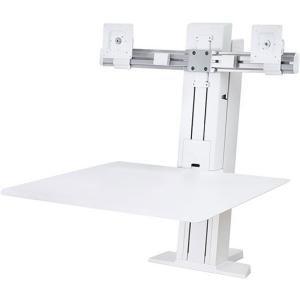 "WorkFit-S Sit-Stand Workstation, 24"", White"